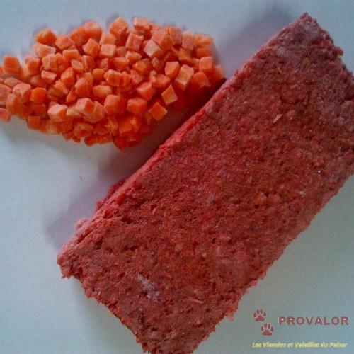 Carcasse volaille et carottes - Colis 18 kg